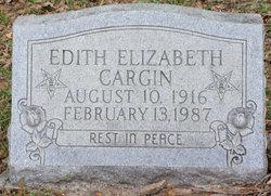 Edith Elizabeth Cargin