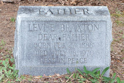 Levi Earl Braxton