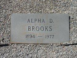 Alpha E. <i>Davis</i> Brooks