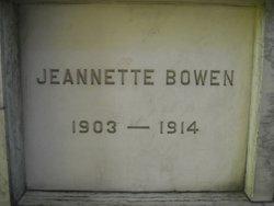 Jeannette Bowen