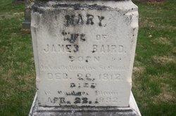 Mary <i>McAdam</i> Baird