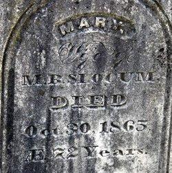 Mary Lowell <i>Ostrander</i> Slocum