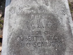 Elizabeth <i>Richardson</i> Hagan