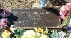 Jos� Joe Aldrete, Jr