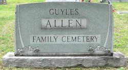 Allen Family Cemetery #1