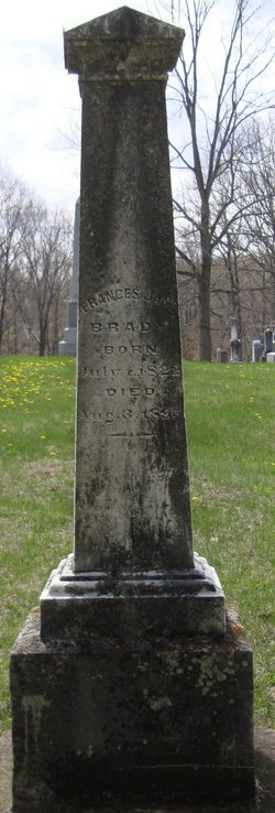 Frances Jane <i>Imlay</i> Brady