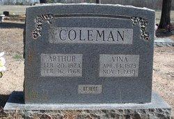 Mary Melvina Vina <i>West</i> Coleman