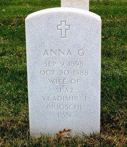 Anna G <i>Thorson</i> Brioschi
