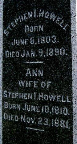 Ann <i>Davenport</i> Howell