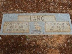 George Wilson Lang
