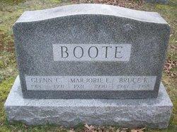 Marjorie E Boote