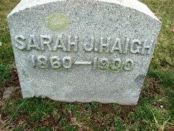 Sarah J <i>Haigh</i> Chaffee