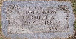 Harriett A. <i>Potter</i> McKinster