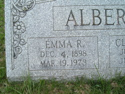 Mrs Emma R. <i>Heaney</i> Albert