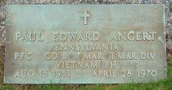 PFC Paul Edward Angert