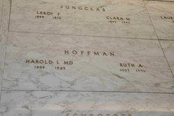 Ruth Agnes <i>Butzman</i> Hoffman