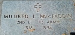 Mildred Louise <i>Aldrich</i> Macfaddin