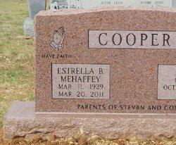Estrella Bernice <i>Mehaffey</i> Cooper