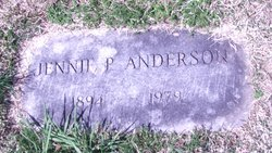 Jennie P Anderson