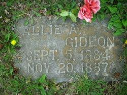 Allie A Gideon