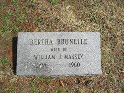 Bertha <i>Brunelle</i> Massey