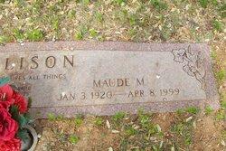 Maude Melissa <i>McClure</i> Allison