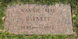 Nannie Mae <i>Bradley</i> Barnett