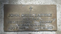 Lieut John Orvel Easterly