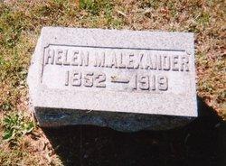 Helen M <i>Moore</i> Alexander