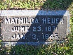 Mathilda <i>Hartmann</i> Heuer