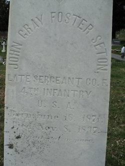 John Gray Foster Seton