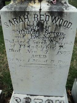 Sarah Redwood <i>Parrish</i> Seton