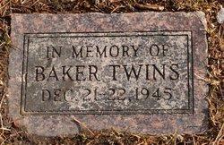 Twin Infants Baker