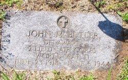 Lieut John Mitchell Butler
