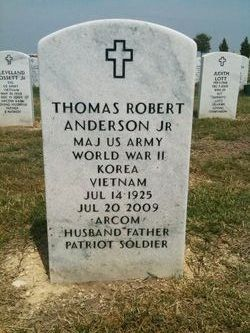 Maj Thomas Robert Andy Anderson