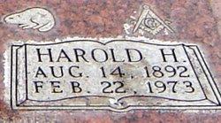Dr Harold H. Walker
