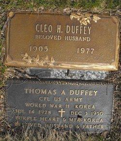 Thomas A Duffey
