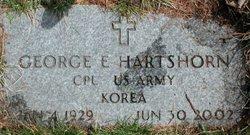 George E Hartshorn