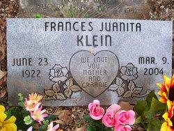 Frances Juanita Klein