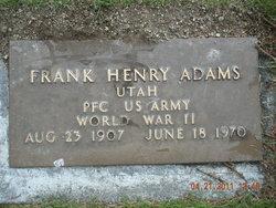 Frank Henry Adams, Sr