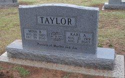 Mina Belle <i>Robertson</i> Taylor