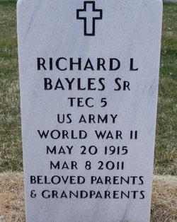 Richard L. Dick Bayles, Sr