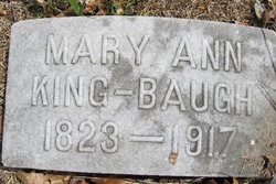 Mary Ann <i>King</i> Baugh