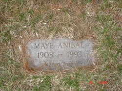 Annie Maye <i>Wilson</i> Anibal