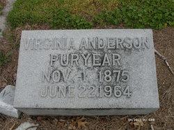 Virginia <i>Anderson</i> Puryear