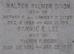 Fannie E. <i>Lee</i> Dixon