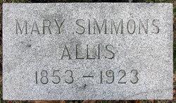 Mary Simmons <i>Phillips</i> Allis