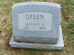 Marian A Green