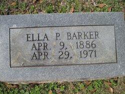 Martha Ella Ella <i>Pigford</i> Barker