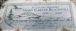 Mary <i>Carter</i> Blackwill